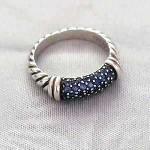 David Yurman Sapphire Candy Metro Ring
